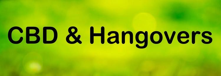 CBD and Hangovers